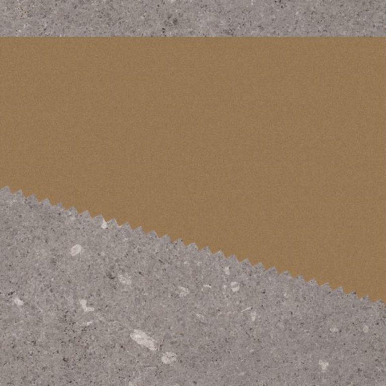 Keramische Patroontegel Kabo Graphite Gold | Retrotegelwinkel.nl