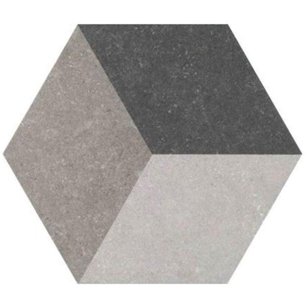 Hex25 Traffic 3D Cube | retrotegelwinkel.nl