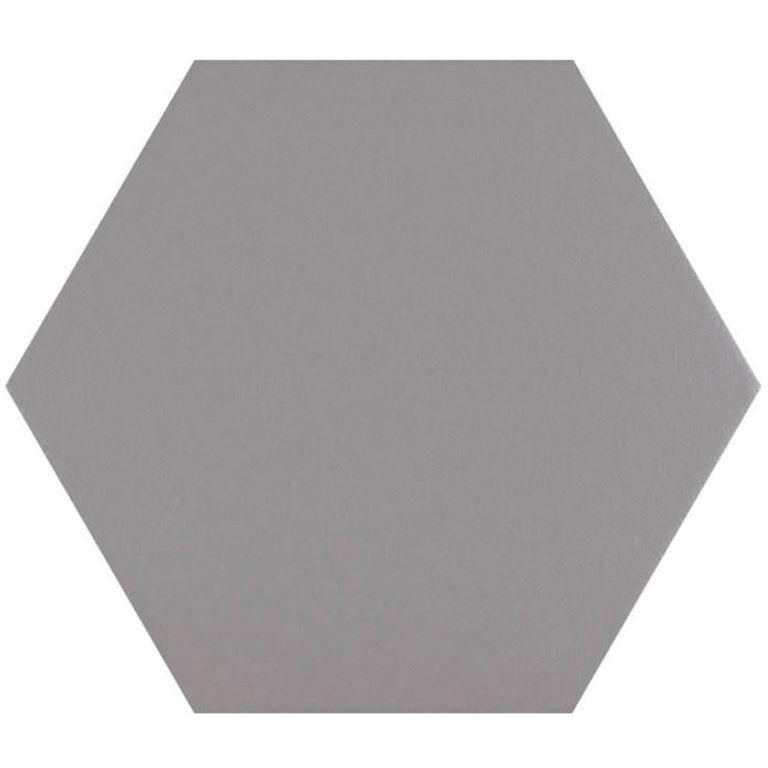 Hex25 Pure Grey | retrotegelwinkel.nl
