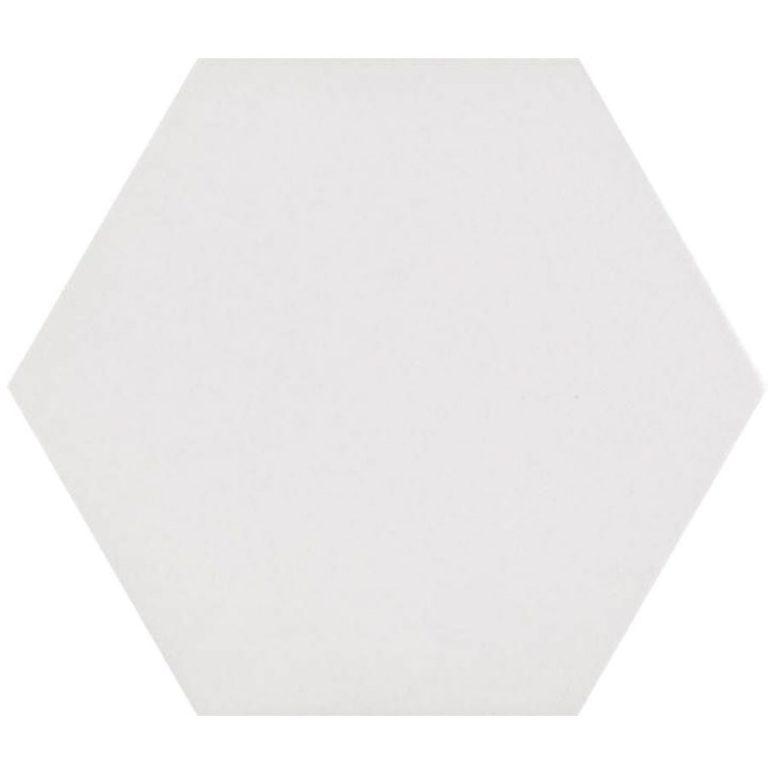 Hex25 Pure White | retrotegelwinkel.nl